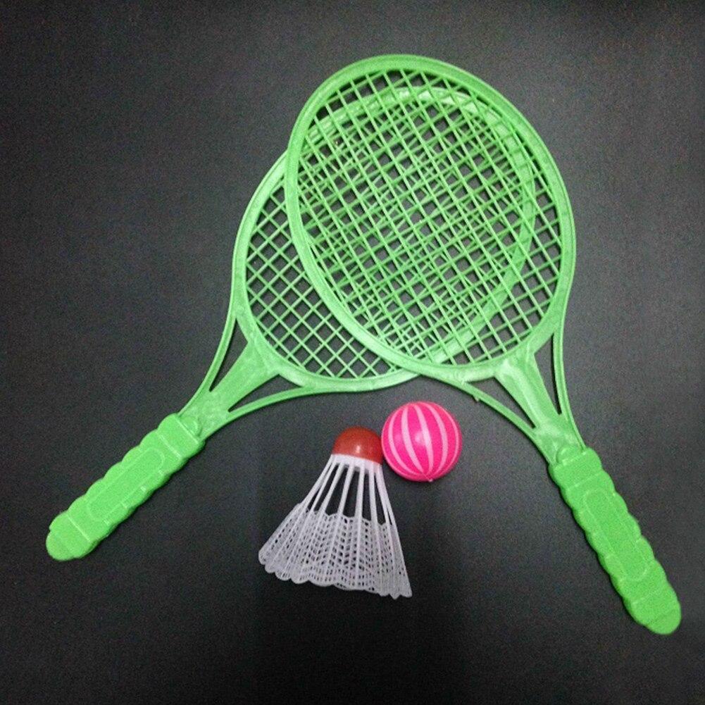 1 Set Badminton Tennis Set Outdoor Sports Family Game Children Boys Girls Sports Toy Rackets
