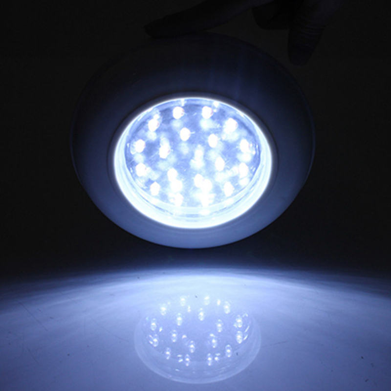 High Quality Battery Operated Ceiling Light 18 LED Wireless Cordless Ceiling Wall Light Remote ...