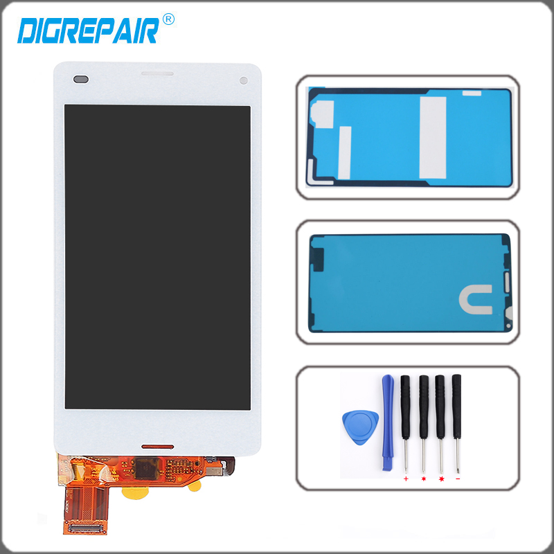 4 3 inch white For Sony Xperia Z3 Mini Compact D5803 D5833 LCD Display Touch Screen