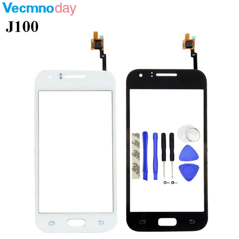 Vecmnoday Touch Screen Digitizer For Samsung Galaxy J1 J100F J100 J100H Touchscreen Front Glass Panel Sensor + Tools