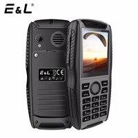 E L W3 Unlocked Cell Phones GSM Waterproof Shockproof Ip68 Phone Keypad Mobile Phone Keyboard Mini