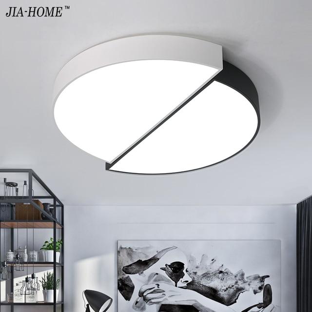 Led Licht Decke Für Wohnzimmer Fernbedienung Oder Schalter Innenbeleuchtung  Led Luminaria Abajur Moderne Für Esszimmer