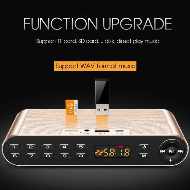 TOPROAD HIFI Bluetooth Speaker Portable 4