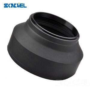 Image 2 - 49mm 52mm 55mm 58mm 62mm 67mm 72 77mm 3 stopniowy 3 in1 giętka guma składana osłona obiektywu sony canon nikon DSIR obiektyw aparatu
