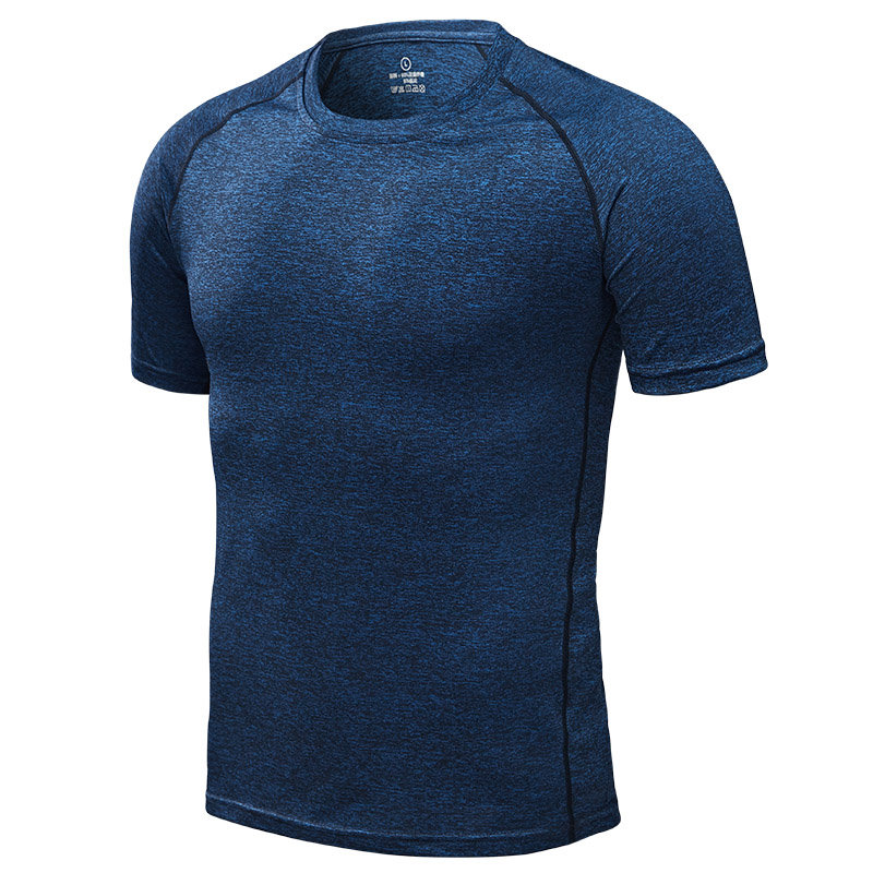 running - Quick Dry Men's Running T-Shirts, Compression Sport T-Shirts, Fitness Gym Tees, Men's Soccer Jersey Sportswear