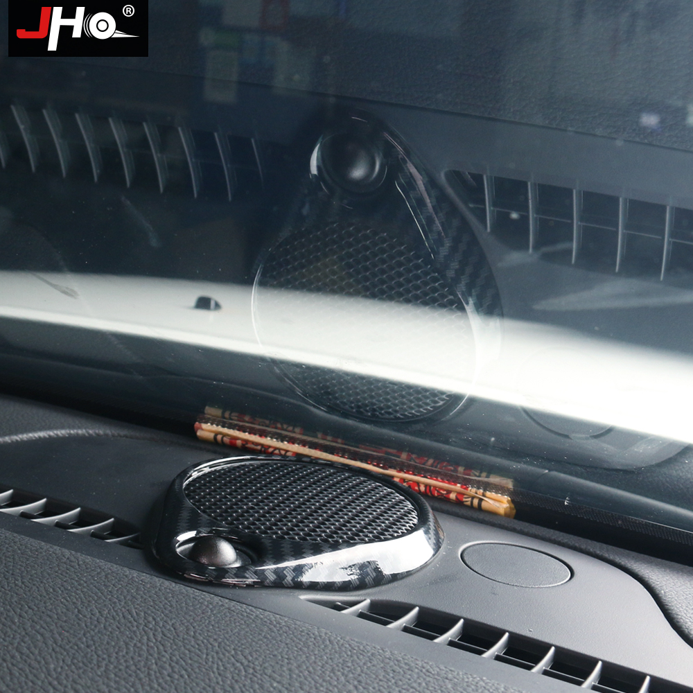 For Jeep Grand Cherokee 2014-18 Carbon Fiber ABS Tail Box Light Ring Cover Trim