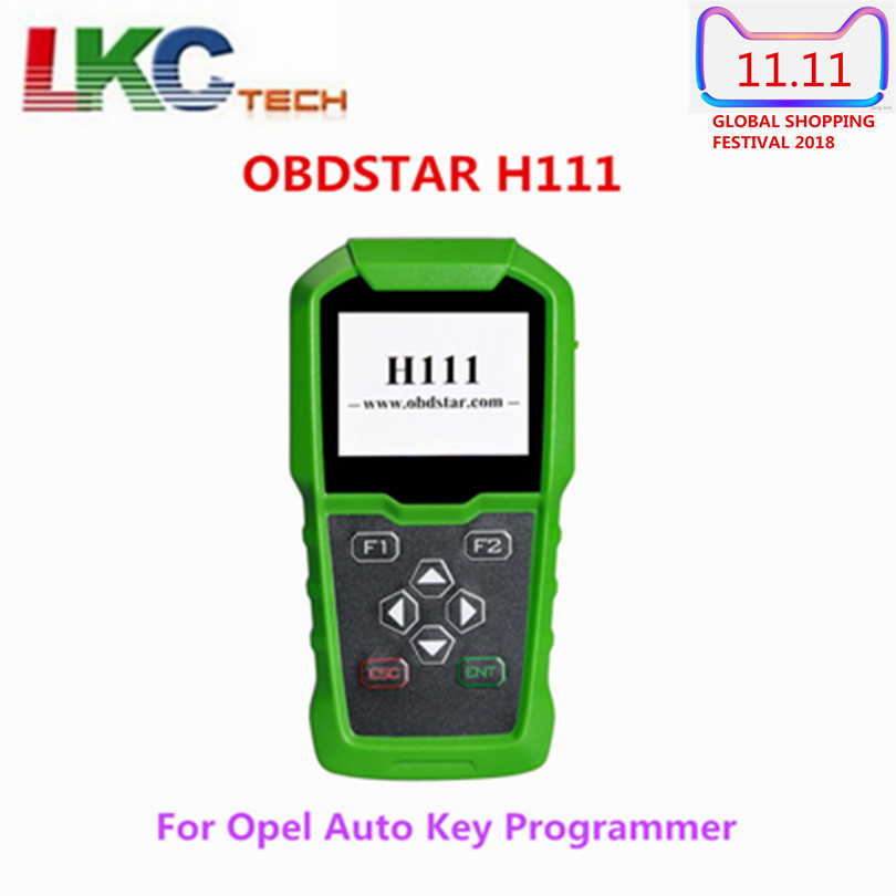 Newest OBDSTAR H111 For Opel Auto Key Programmer&Cluster Calibration via OBD Extract PIN CODE from BCM for OPEL Key Programmer obdstar f108 psa pin code reading and key programming tool for peugeot citroen ds f108 newly add k line