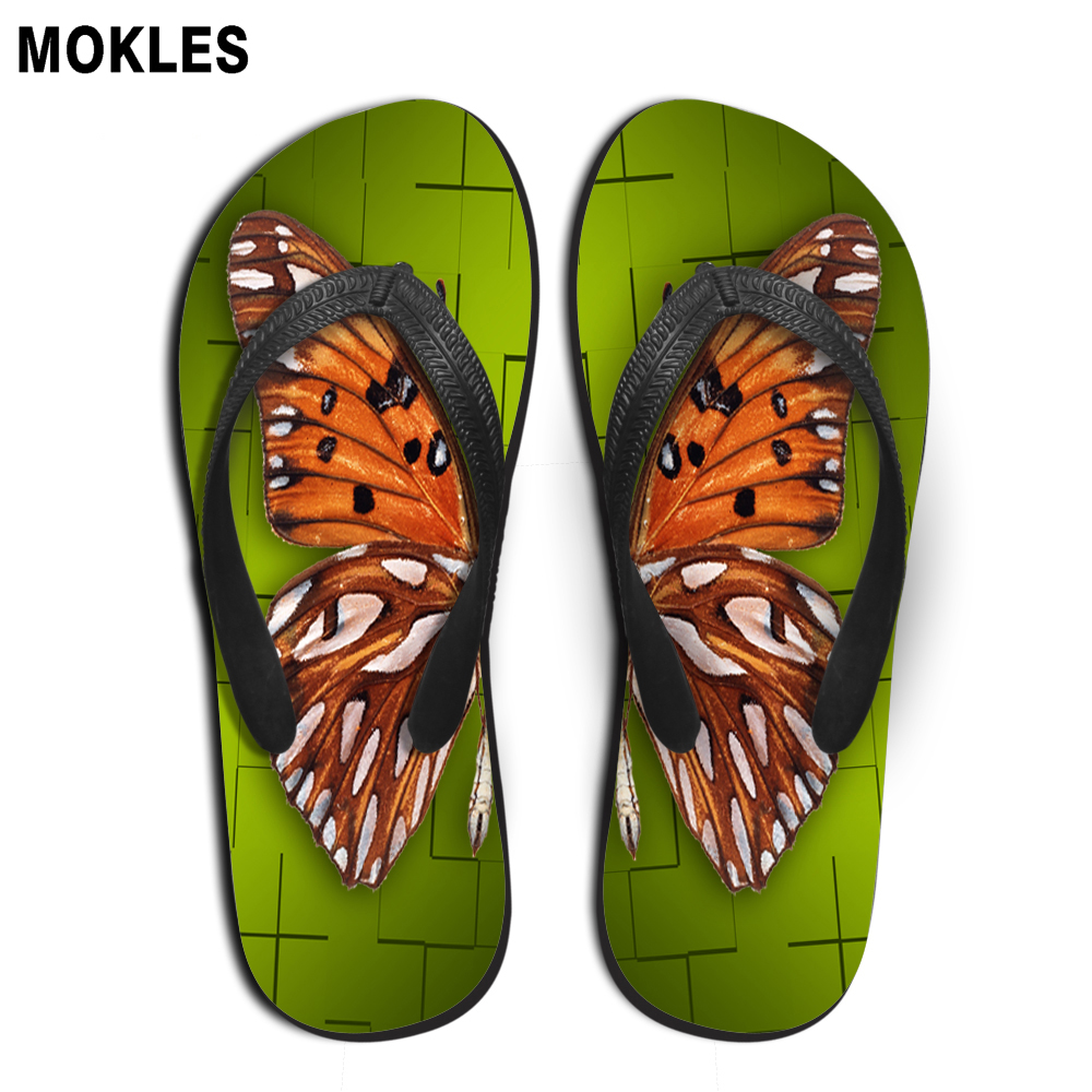 a93ce92df37 MOKLES summer fashion flip flops rubber slippers custom pictures printing  wear resistant men flats shoes-in Flip Flops from Shoes on Aliexpress.com  ...