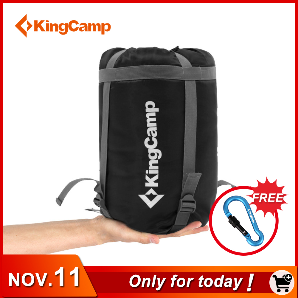 KingCamp Camping Single Sleeping Bag Envelope Lightweight Cotton Adult 4 Season Lazy Sleeping Bags Slaapza for Outdoor Hiking outdoor camping laybag sleeping lazy bag adult portable hiking envelope keep warm sleeping bags travel hiking equipment