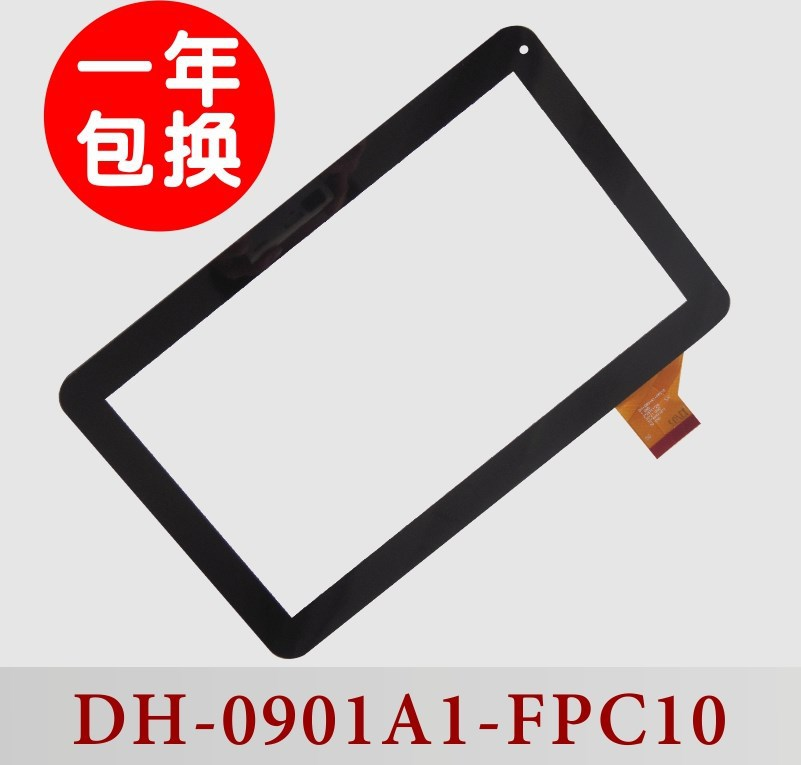 10.1 inch tablet Original touch screen capacitive screen Panel Digitizer Glass with Cable dh-0901a1-fpc10 Free Shipping original new 10 1 inch touch panel for acer iconia tab a200 tablet pc touch screen digitizer glass panel free shipping