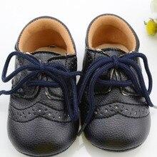 2017 Новый Кожа Младенца Впервые Walkers Antislip Первые Ходунки Для Мальчика Девушка Genius Baby Детские Обувь