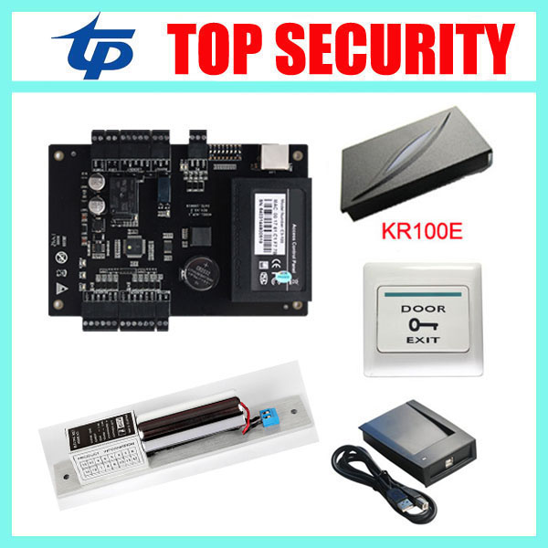 Cheapest biometric RFID card time attendance and access control system zk C3-100 tcp/ip door lock door access control board biometric fingerprint access controller tcp ip fingerprint door access control reader