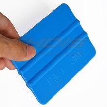1 шт. синий 3 м Мягкая ПП Скребки стайлинга автомобилей 3d углерода Волокно Простыни Обёрточная бумага Плёнки винил мотоцикл Наклейки для автомобиля Наклейка ракель Скребки A01