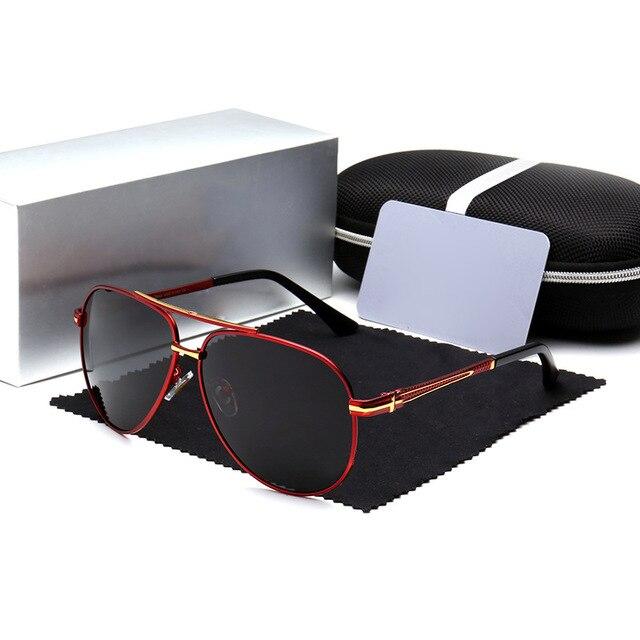c9d44e281223f6 Luxury Sunglasses Men Polarized 2019 Brand Designer Polaroid Sun Glasses  For Male lunette soleil homme zonnebril