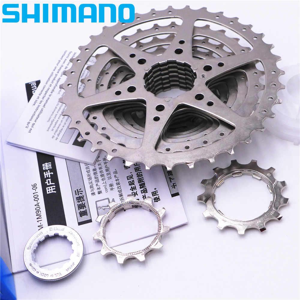 92a11d002d3 ... SHIMANO HG400 MTB 9 Speed Alivio Mountain Bike Cassette Freewheel 11-32T  11-34T