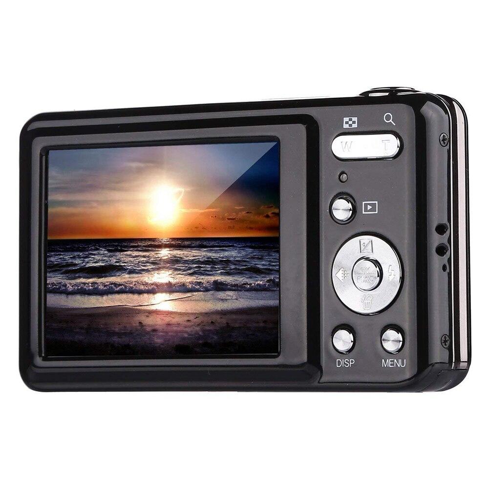 24MP haute définition Anti-secousse batterie au Lithium enregistrement vidéo détection de visage appareil Photo numérique cadeaux Photo Zoom optique enfants Compact