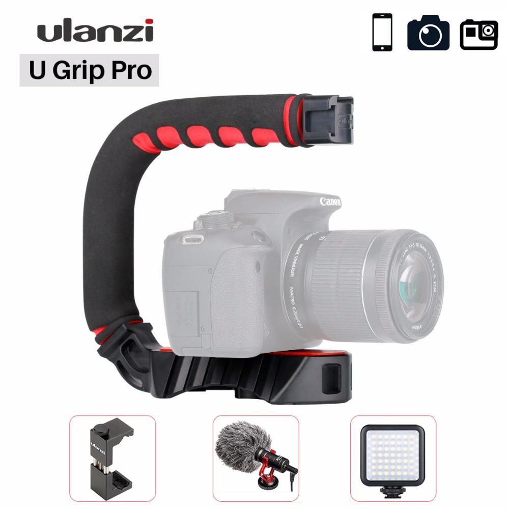 Стабилизатор для камеры Ulanzi U Grip Pro, Ручной Стабилизатор для iPhone 11, GoPro 7, 6, 5, Canon, Sony|Стедикамы и системы стабилизации|   | АлиЭкспресс