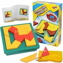 Инновационная головоломка, тест на интеллект, креативная головоломка tangram, головоломка, головоломка для детей, обучающая логическая игра, игрушка
