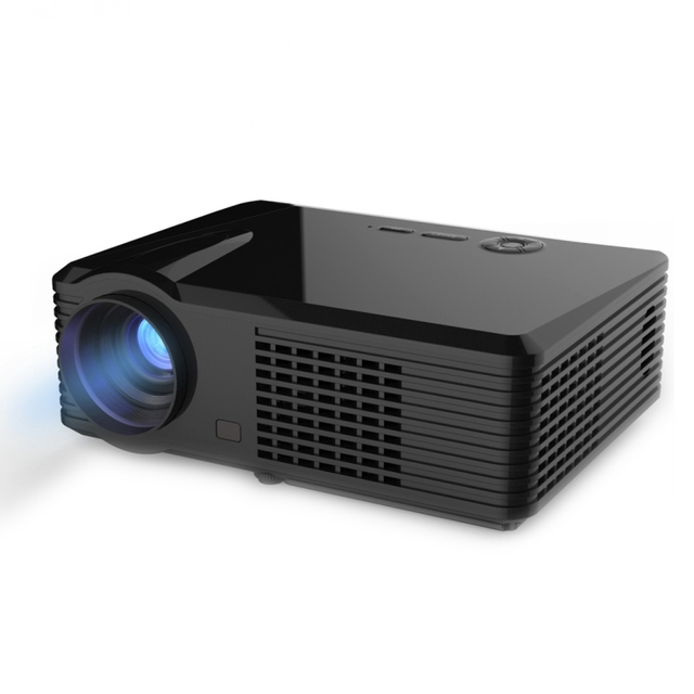 1080P 2500 Lumens Full HD Digital LED Projector Android Cortex-A5 Quad Core 1.5GHz 1GB RAM 8G ROM Video Home Cinema Projector