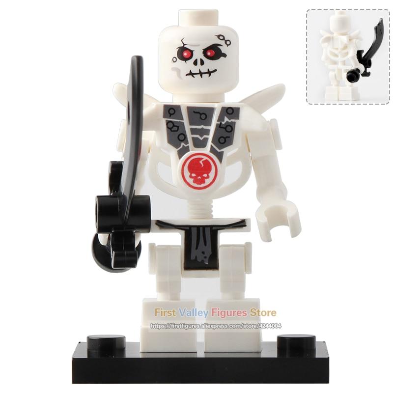 Single Model Building Blocks Ninja Series Action Figure Bone Soldier Frakjaw Garmadon Weapon Skeleton Army Toys For Children Toys & Hobbies