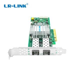 Image 2 - LR LINK 1002PF 2SFP+ 10Gb fiber optic ethernet network adapter PCI Express network card lan card Nic Domestic Chip