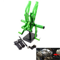 CNC Aluminum Motorcycle Rear Adjustable Rear Sets Set Footrests For Honda Grom MSX125 MSX 125 2012 2013 2014 2015