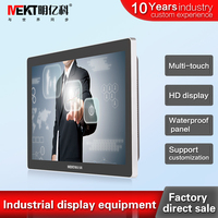 21.5 inch widescreen display 10 point touch capacitive touchscreen display 21.5 inch touch screen monitor hdmi USB dvi