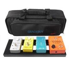 Effet guitare Pédale Conseil Configuration 40X13 CM DIY Guitare Pédalier Avec Magic Tape Musical Instrument Accessoire Pour Vente