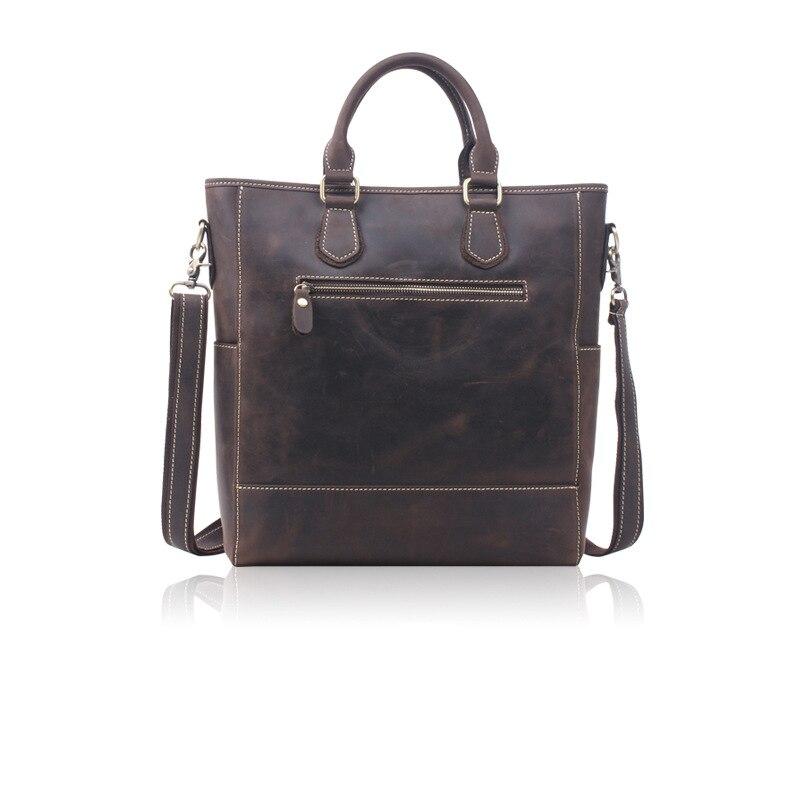цена на 2018 New style genuine leather messenger bag for men High quality Natural handbag Fashion shoulder Bag