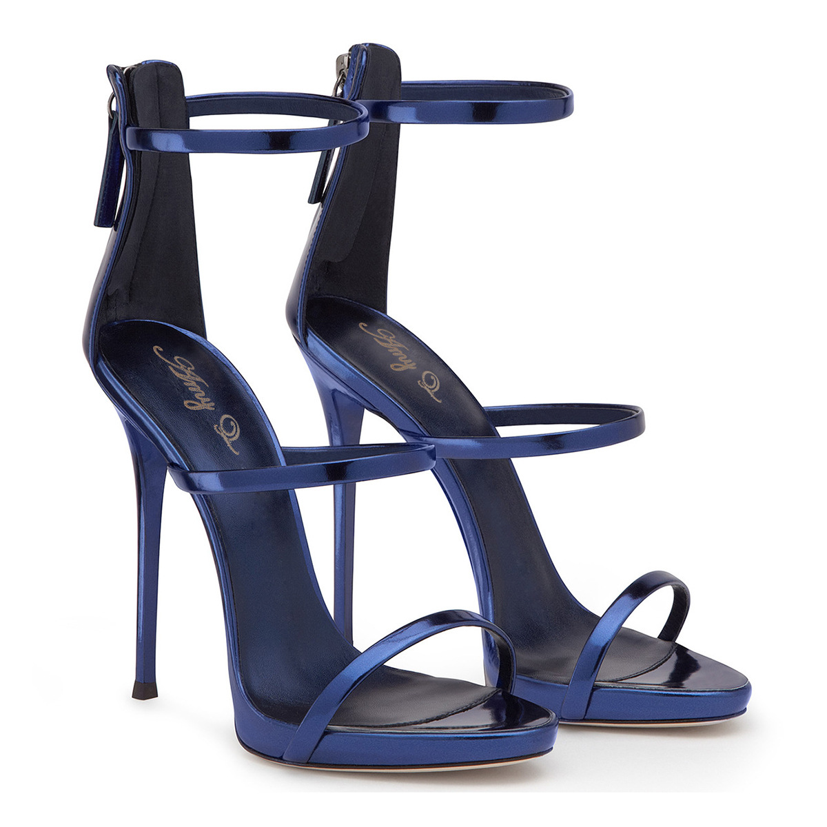 In the summer of 2018, Europe and the United States new bright leather open back with high heel ladies sandals.In the summer of 2018, Europe and the United States new bright leather open back with high heel ladies sandals.