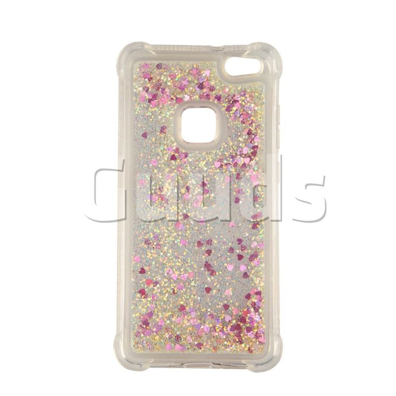 Dynamic Liquid Glitter Sand Case For Huawei P10 Lite Case Printing Cover 3d Stars Anti-knock For Huawei P10lite Case Half-wrapped Case