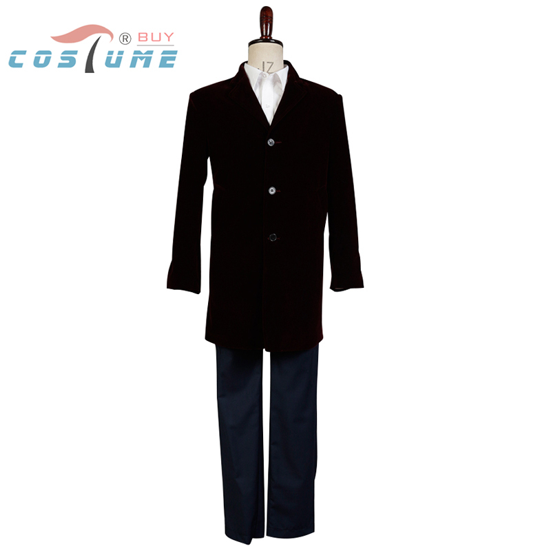 Doctor Who 12th Doctor Peter Capaldi Uniform Trench Coat Jacket Shirt Vest For Men Cosplay Costume Custom Made Whole Set