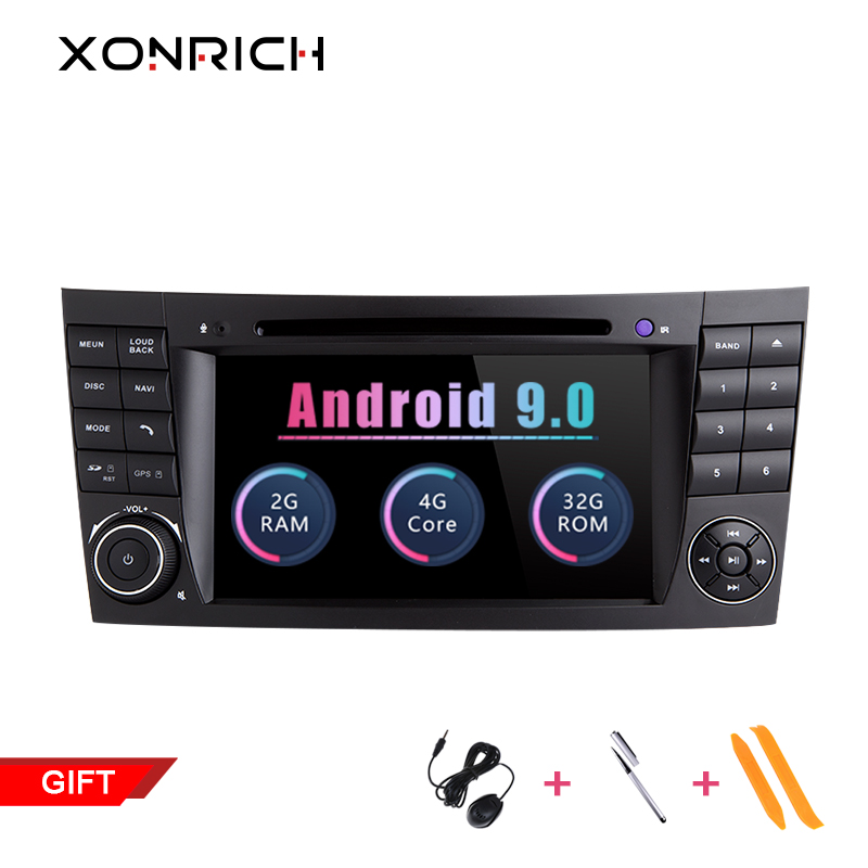 2Din Android 9.0 Car DVD Player For Mercedes W211 W219 W463 CLS350 CLS500 CLS55 E200 E220 E320 E300 E350 GPS Radio Stereo RAM 2G2Din Android 9.0 Car DVD Player For Mercedes W211 W219 W463 CLS350 CLS500 CLS55 E200 E220 E320 E300 E350 GPS Radio Stereo RAM 2G