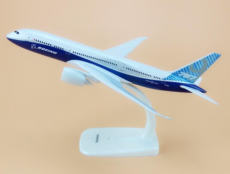 20cm modelo de avião de liga de