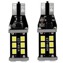 цена на MODERN CAR LED Light Bulb 100x T10 T15 W5W 194 Canbus Car Clearance Parking Lamps 2835 15SMD Auto NO ERROR License Plate Lights