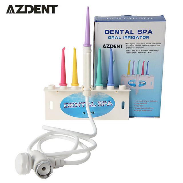 1 Unidades AZDENT DSA Irrigador Oral SPA Dental Chorro de Agua cepillo de Dientes Hilo Dental Hilo Dental Oral Higiene dental instrumento