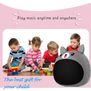 Image 2 - ZEALOT S28 True Wireless Stereo Mini Bluetooth Animal Wireless Speaker For Kids waterproof, voice prompt, card, radio,