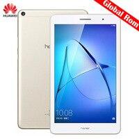 Orijinal Huawei MediaPad T3 KOB-L09 8 inç 4G LTE Telefon Görüşmesi Tablet 3 GB 32 GB EMUI 5.1 Qualcomm SnapDragon 425 Quad Core 4x1.4 GHz