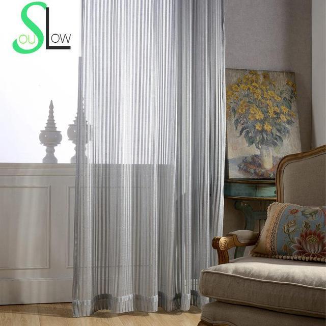 escalera gris fresca simple elegante cortina dormitorio sala de estar cortinas slidos chino ventana tela