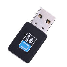 Mini USB Wifi Adapter 150Mbps Wi-fi Receiver Dongle Wireless Network for Laptop Desktop Computer Windows Vista Linux MAC OS(China)