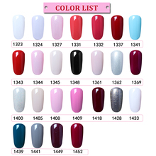 Belen 7ml Nail Polish Gorgeous Color Nail Gel Polish Vernis Semi Permanent Gel Lacquer Soak Off Nail Varnishes Gelpolish