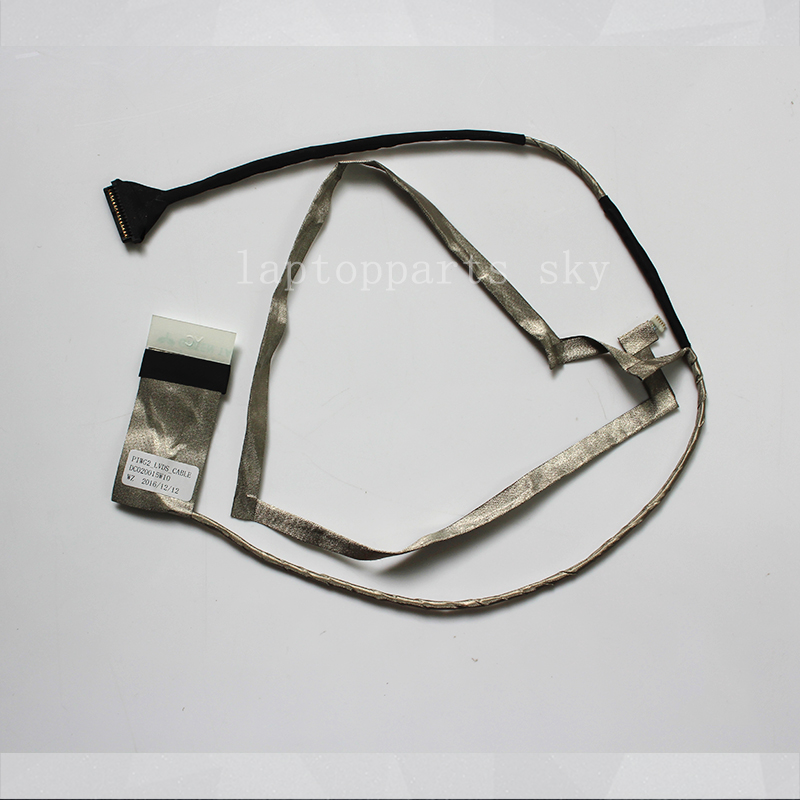 Genuine New LCD LVDS CABLE For Lenovo G570 G575 laptop screen video Flex Cable DC020015W10