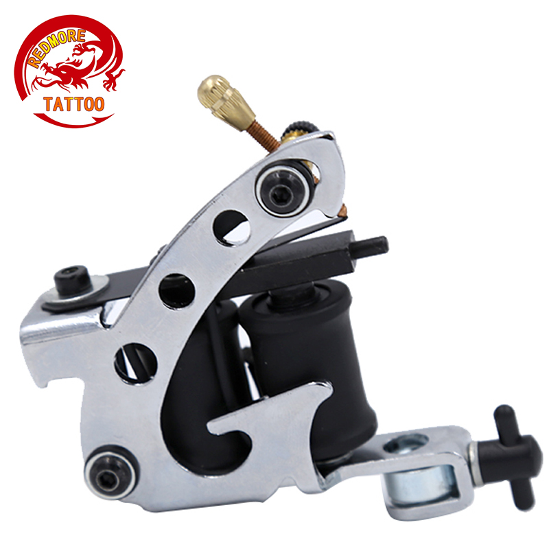 10 Wrap Coils Permanent Tattoo Machine Shader Liner Carbon Steel Rotary Assorted Tatoo Motor Gun Instrument