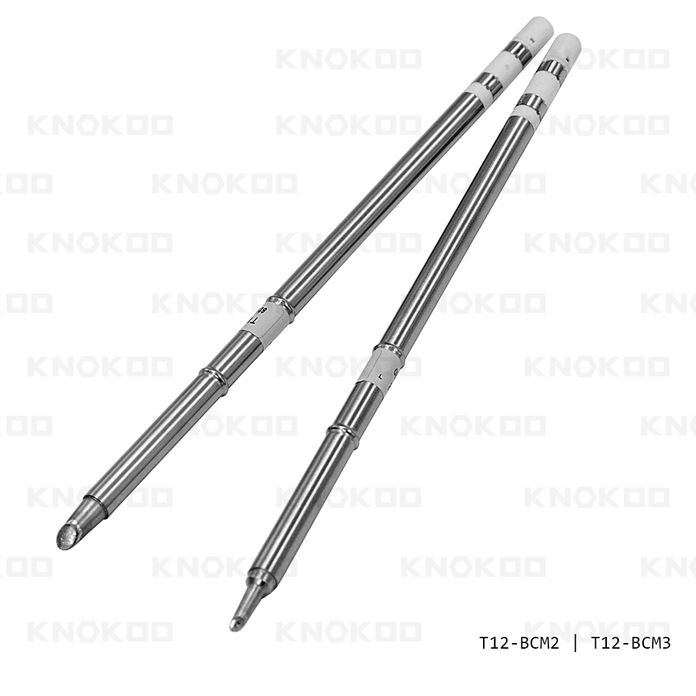 KNOKOO T12-BCM2 T12-BCM3 T12 Series Soldering Iron Tips for FX-951 Soldering Station