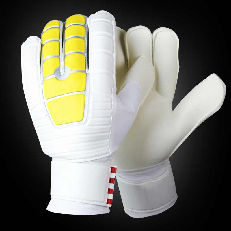 Newly Soccer Goalkeepers Latex Slip Gloves To Help You Make The Toughest Saves BFE88