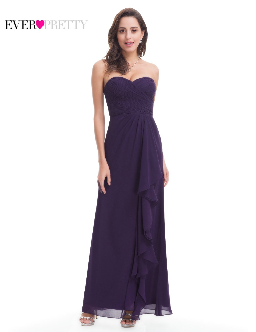 Elegant Evening Dresses Ever Pretty EP08796 A Line Round Neck ...