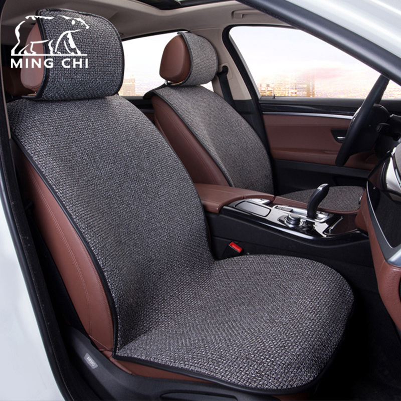Car Seats Covers Universal Fashion Comfortable Fit For Auto Seat Protector Polyester Car Seat Cushion Cover Car Styling