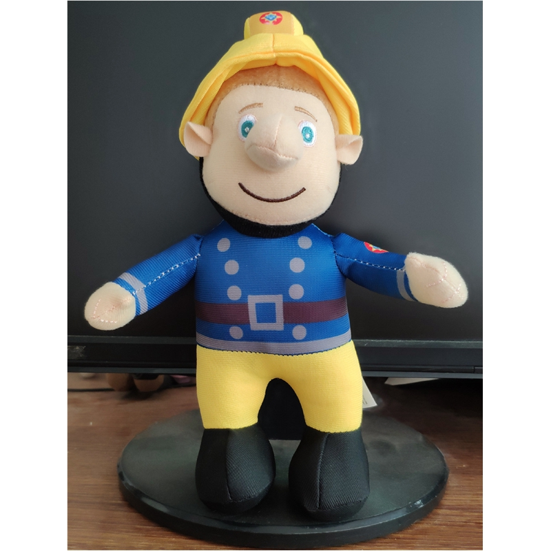 24cm Fireman Sam Doll Fire Man Stuffed Animals Plush Toy kids Baby Christmas Gift martha plush toy stuffed doll gift christmas gift 26cm