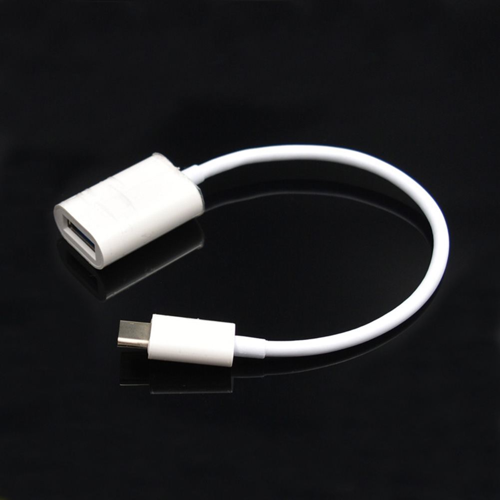 Type-C OTG Adapter Cable USB 3.1 Type-C Male to USB 3.0 Female Data Cable Cord Converter 20cm DJA99 vakind usb cable 0 2m usb 3 1 usb c type c type c male to micro usb2 0 5pin male connector adapter data charging cable wire cord