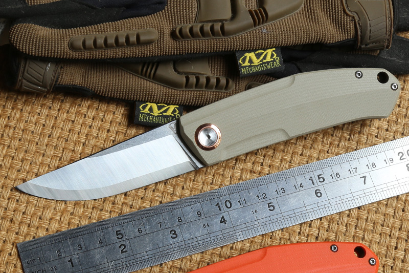STEDEMON G02 tactics folding knife 12C27 blade KVT ball bearing G10 handle camping hunting outdoor Survival knives EDC Tool|Knives| |  - title=